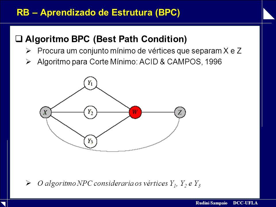 RB – Aprendizado de Estrutura (BPC)