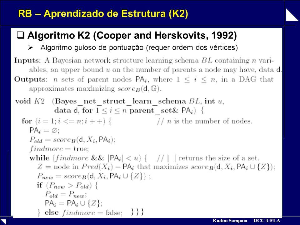 RB – Aprendizado de Estrutura (K2)