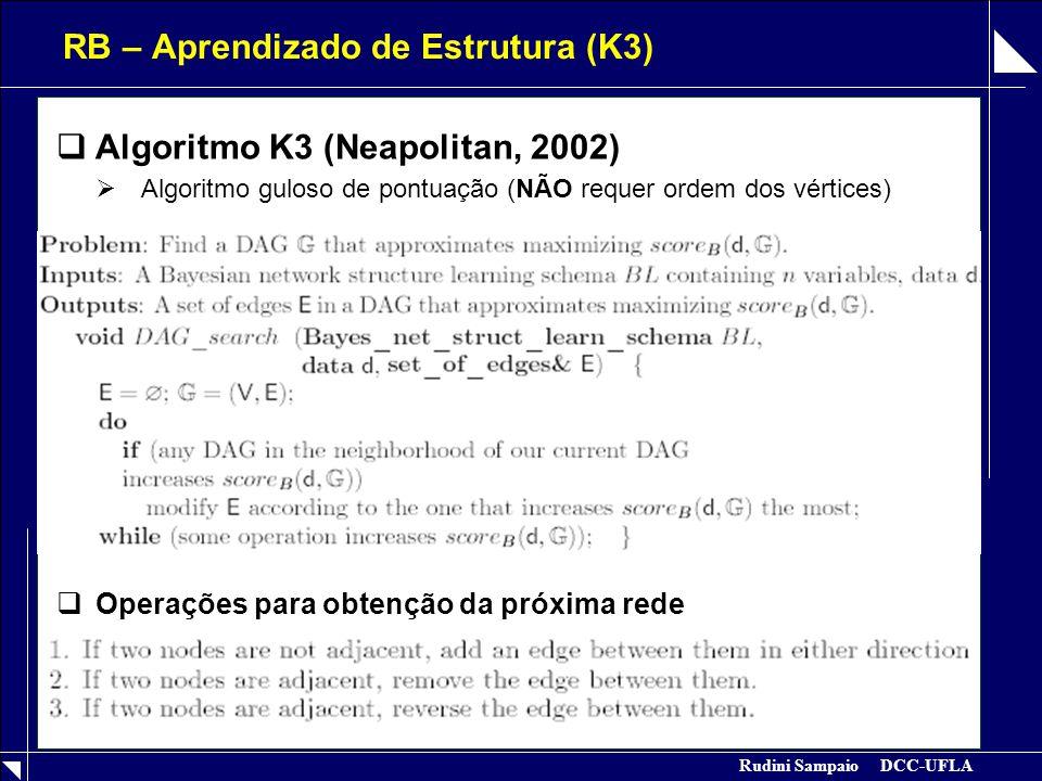 RB – Aprendizado de Estrutura (K3)