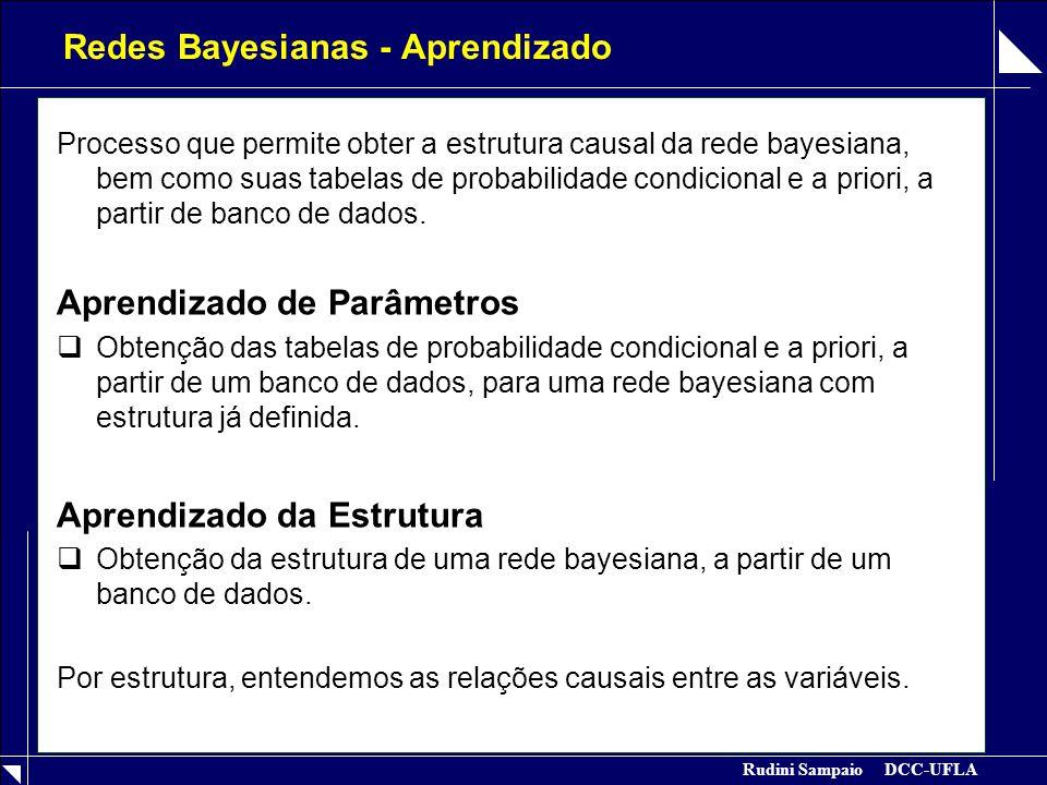 Redes Bayesianas - Aprendizado