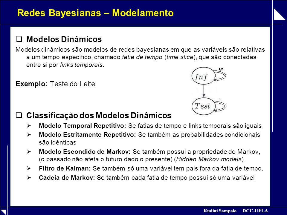 Redes Bayesianas – Modelamento