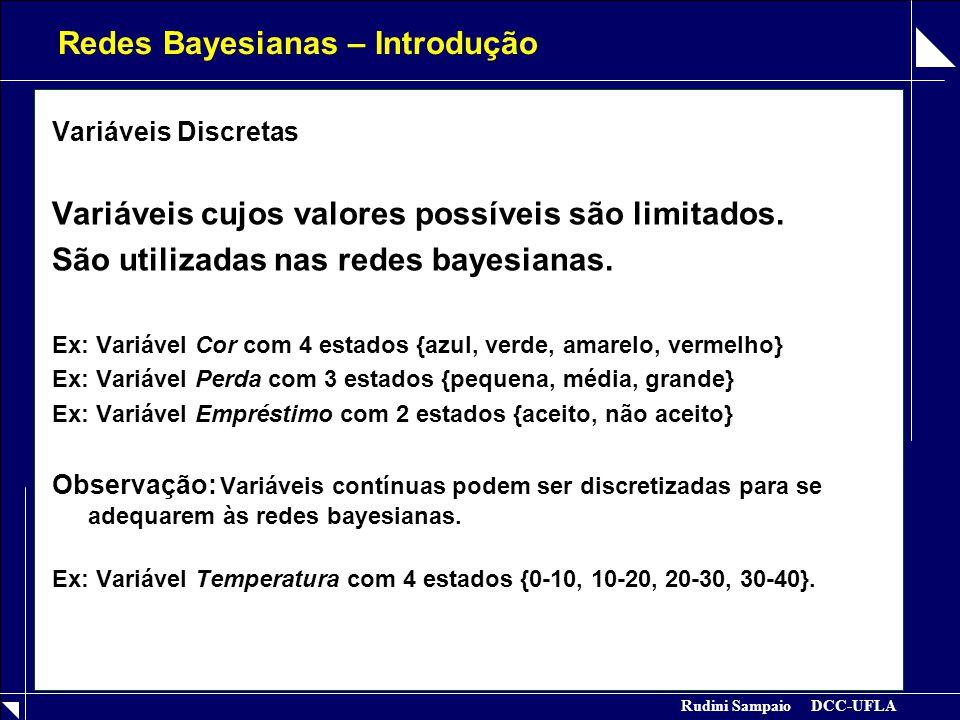 Redes Bayesianas – Introdução