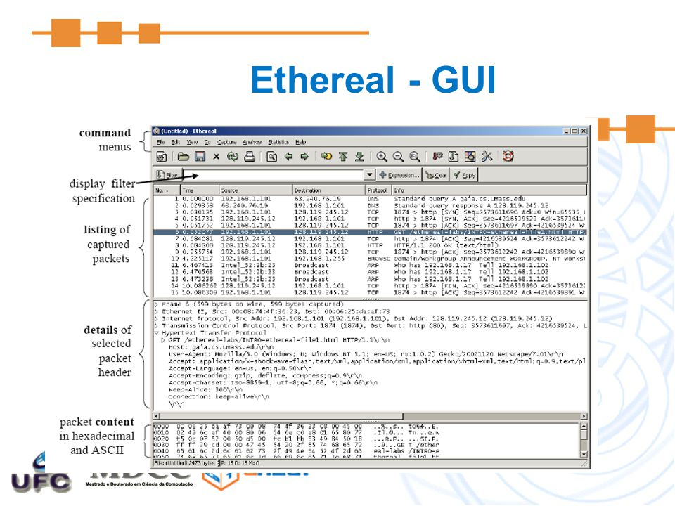 Ethereal - GUI