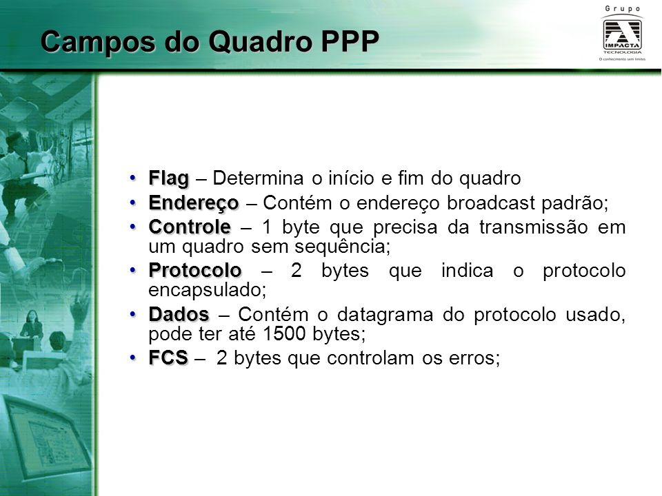 Campos do Quadro PPP Flag – Determina o início e fim do quadro
