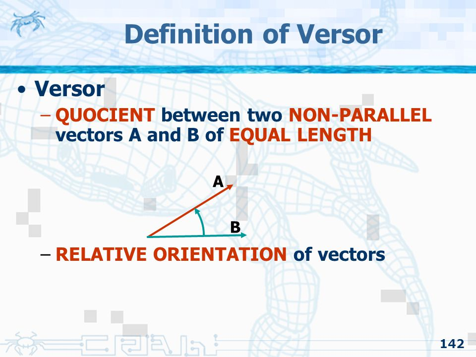 Definition of Versor Versor