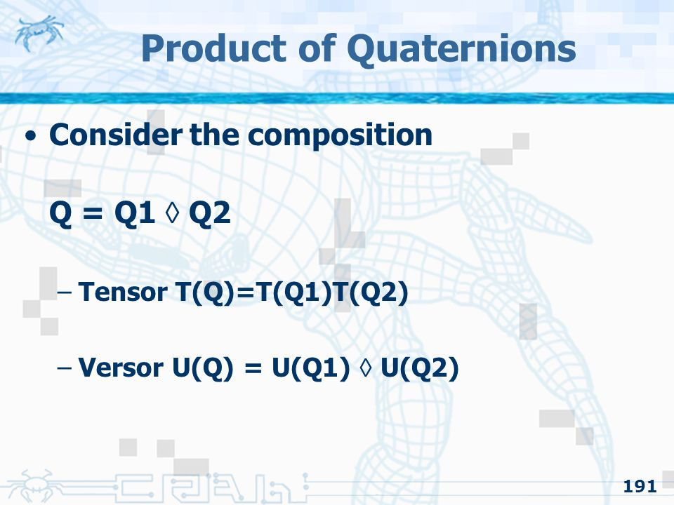 Product of Quaternions