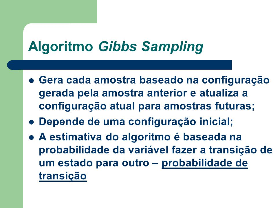 Algoritmo Gibbs Sampling