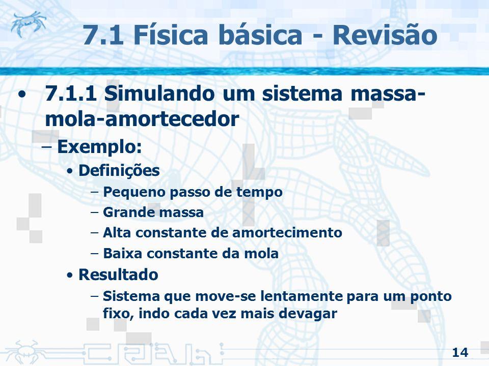 7.1 Física básica - Revisão