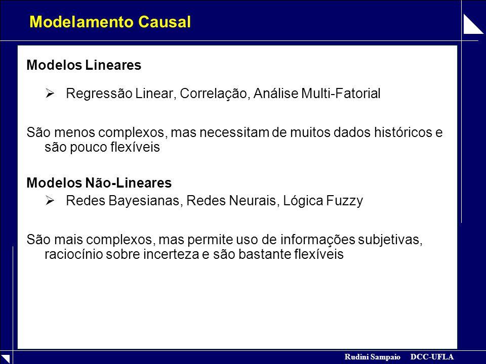 Modelamento Causal Modelos Lineares
