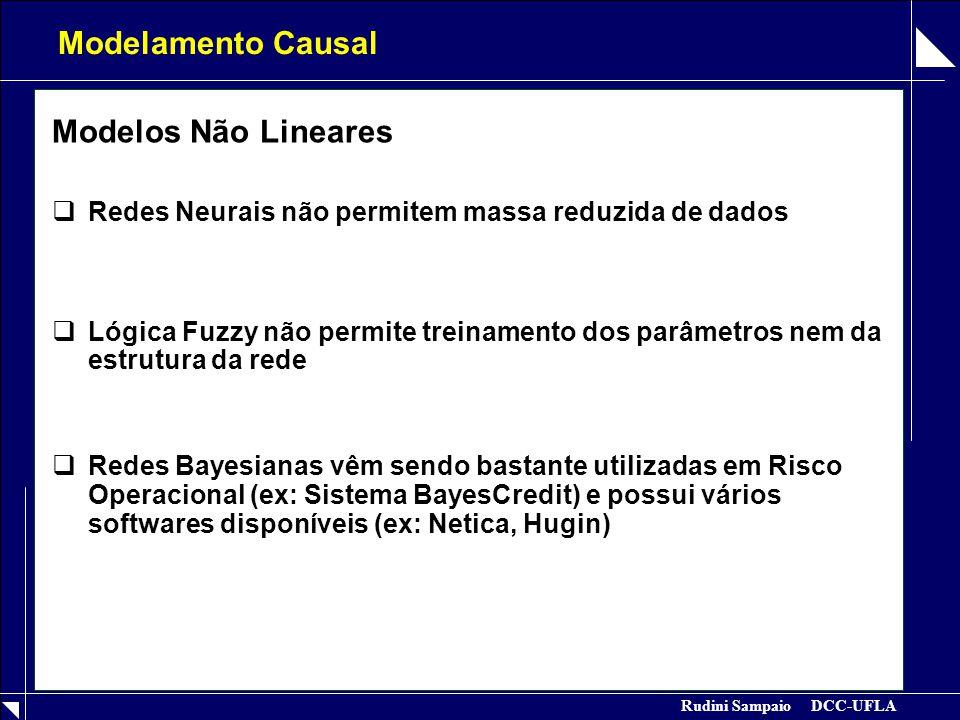 Modelamento Causal Modelos Não Lineares