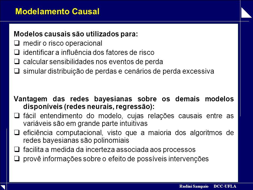 Modelamento Causal Modelos causais são utilizados para: