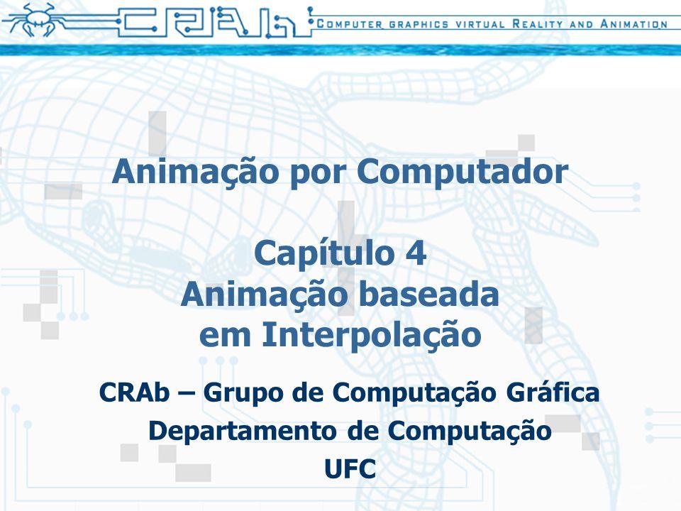 Animação por Computador Capítulo 4 Animação baseada em Interpolação