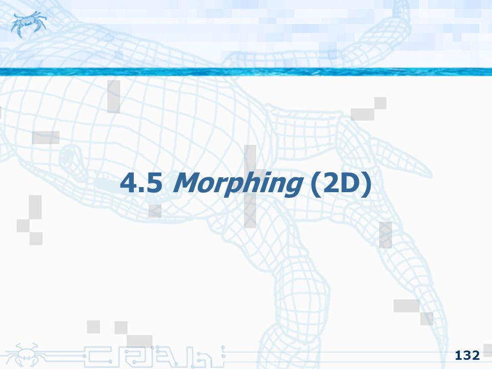 4.5 Morphing (2D) 132
