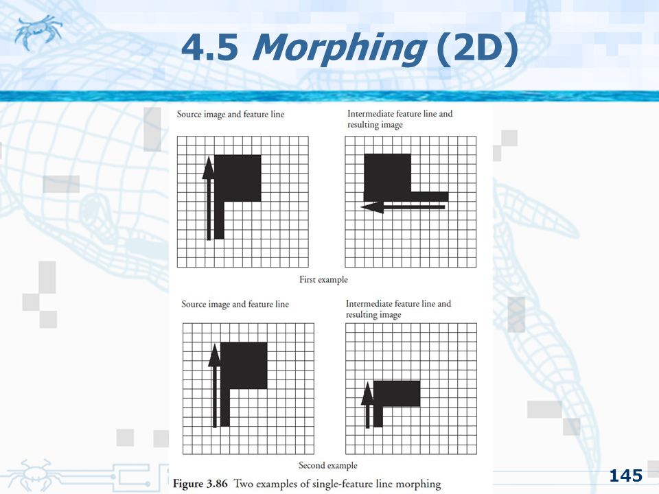 4.5 Morphing (2D) 145