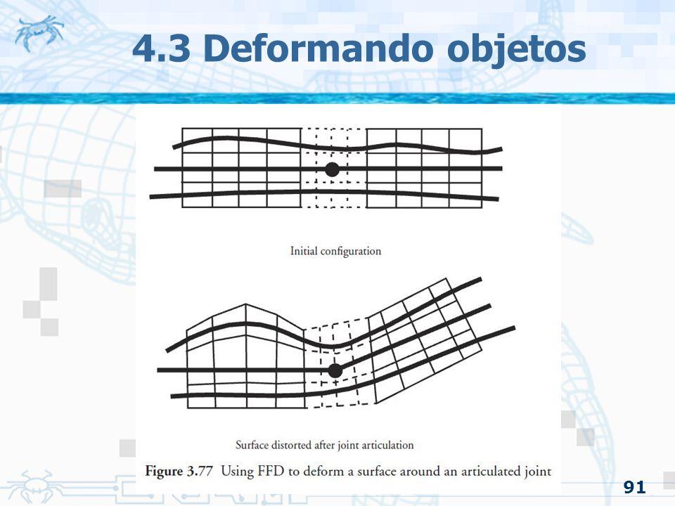 4.3 Deformando objetos 91