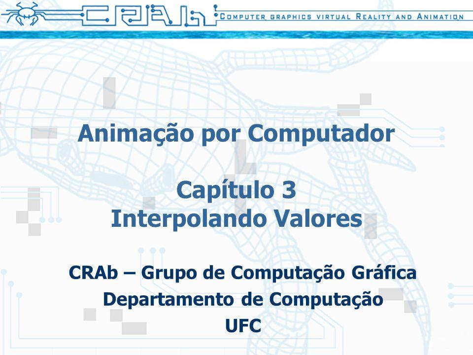 Animação por Computador Capítulo 3 Interpolando Valores