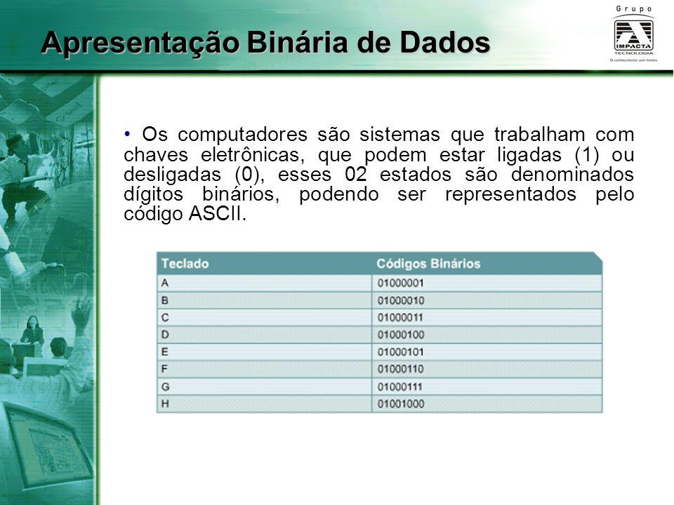 Apresentação Binária de Dados