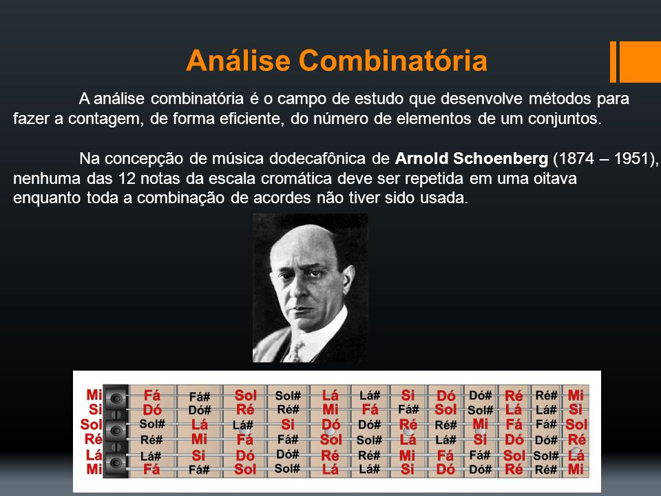 Análise Combinatória A análise combinatória é o campo de estudo que desenvolve métodos para.