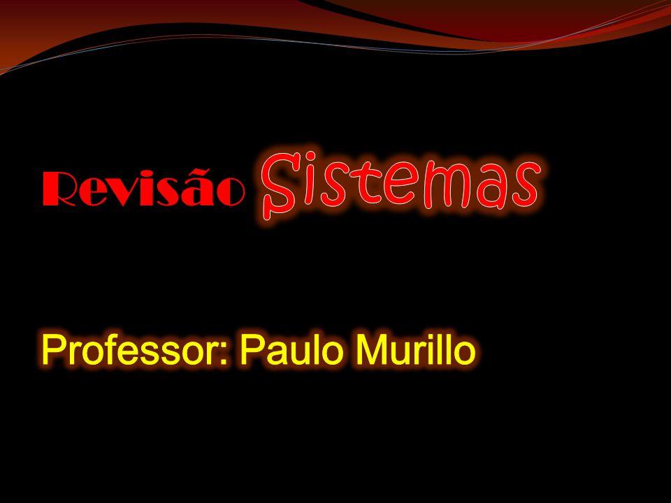 Revisão Sistemas Professor: Paulo Murillo