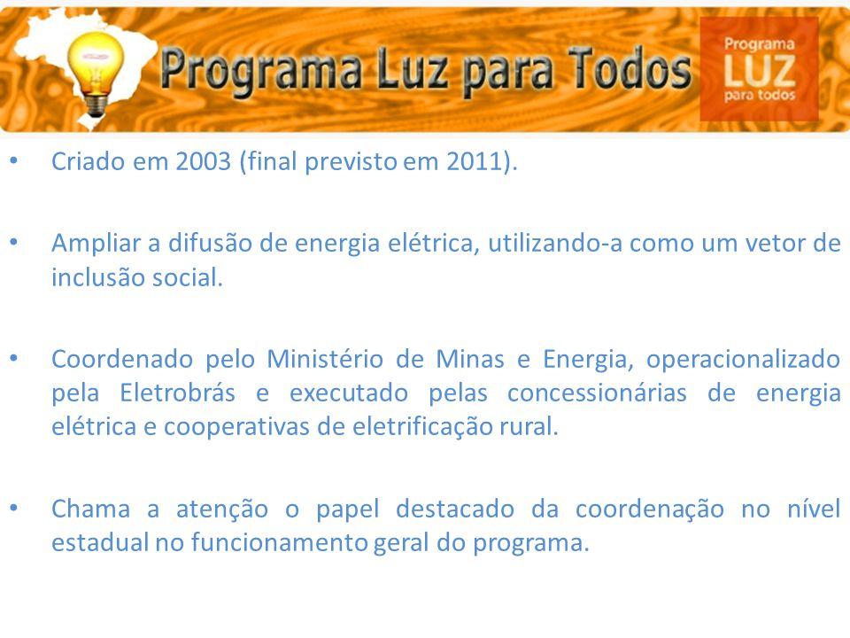 Luz para Todos (Programa Nacional de Universalização do Acesso e Uso da Energia )