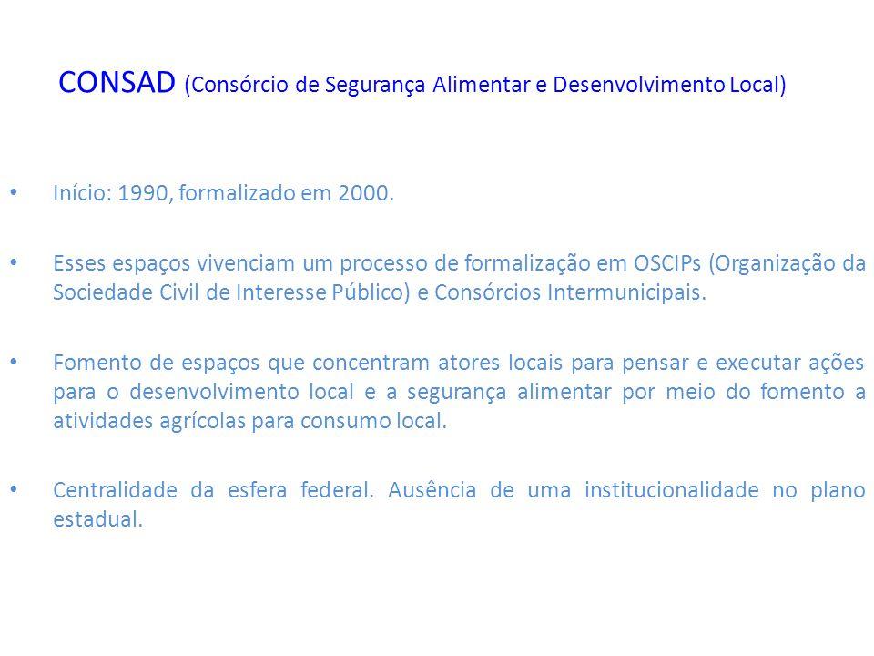 CONSAD (Consórcio de Segurança Alimentar e Desenvolvimento Local)