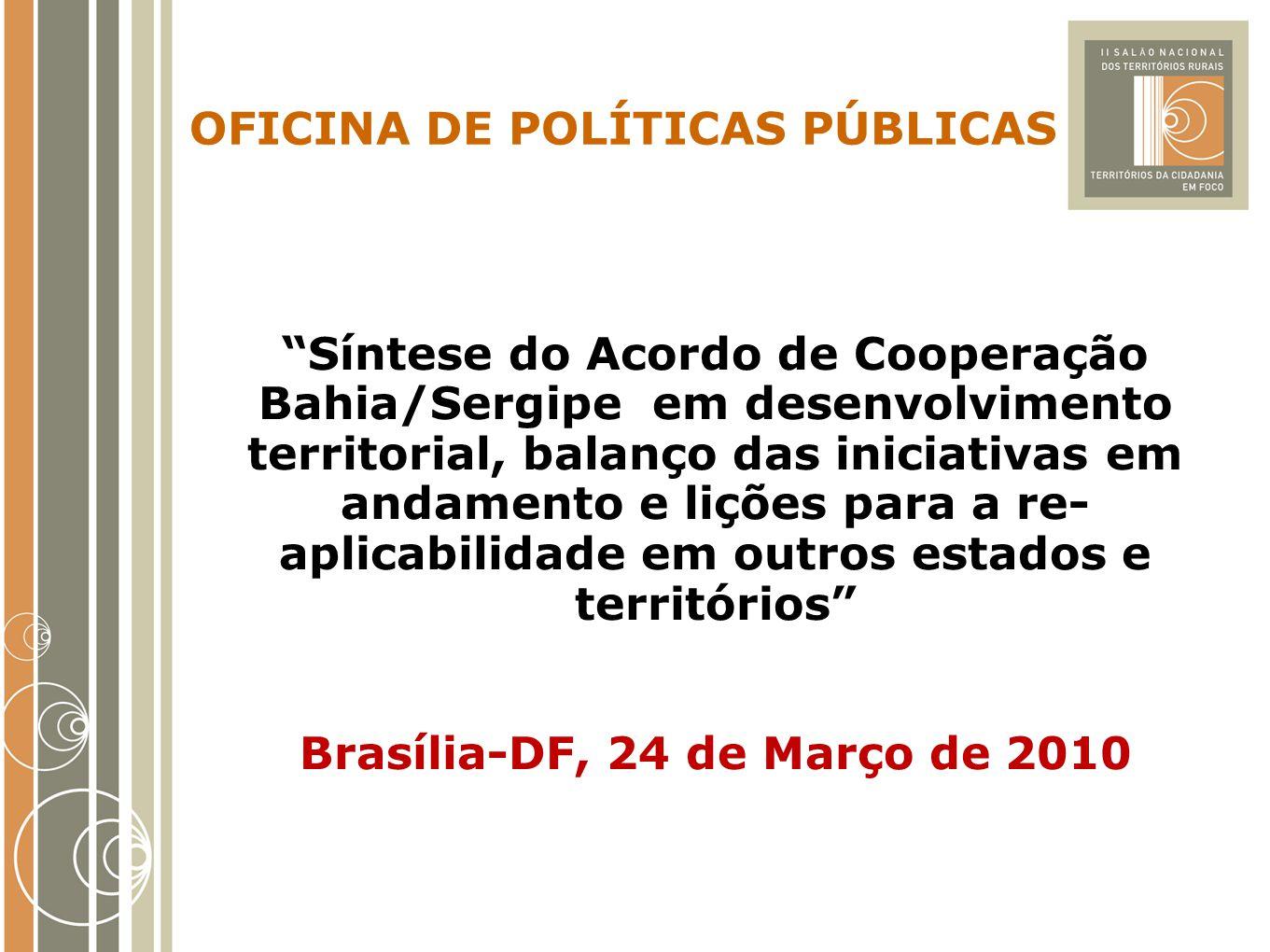 Brasília-DF, 24 de Março de 2010