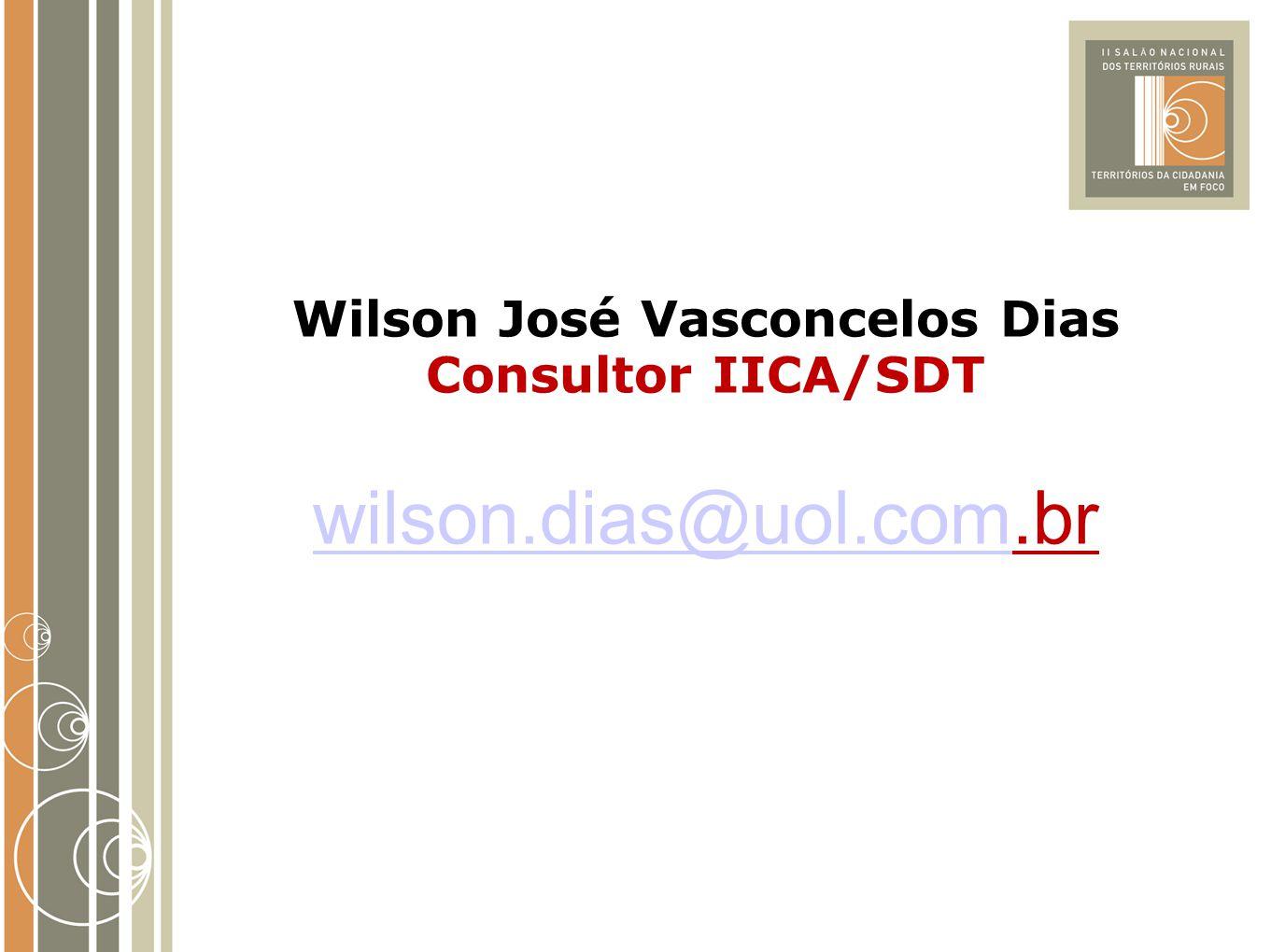 Wilson José Vasconcelos Dias