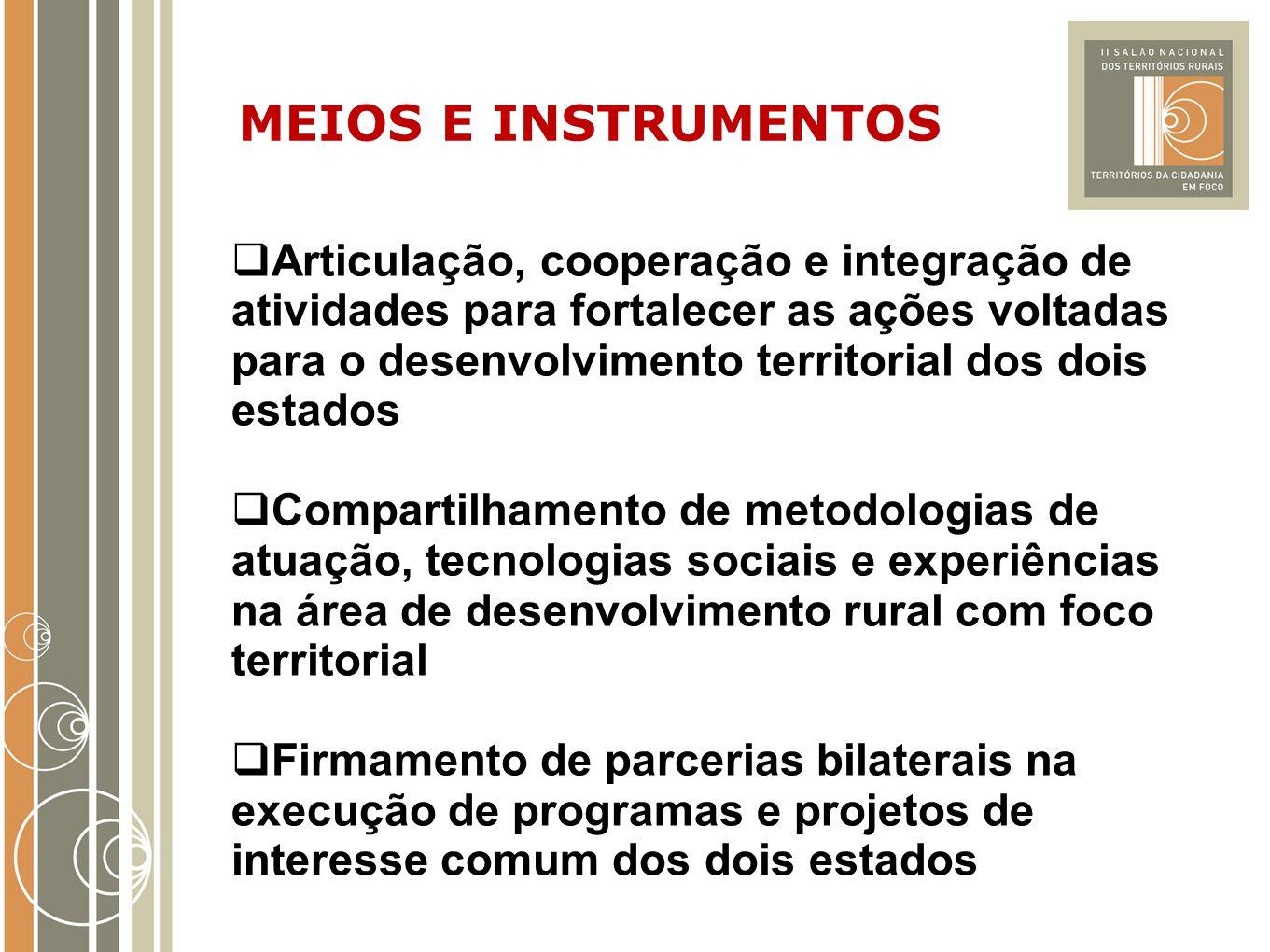 MEIOS E INSTRUMENTOS