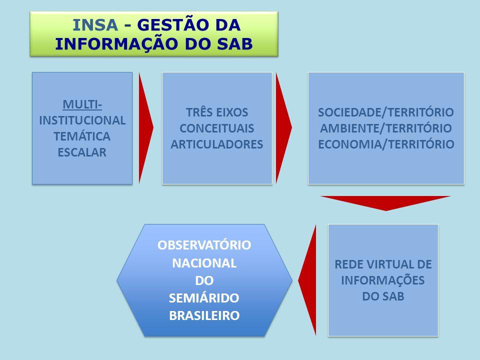 INSA - GESTÃO DA INFORMAÇÃO DO SAB