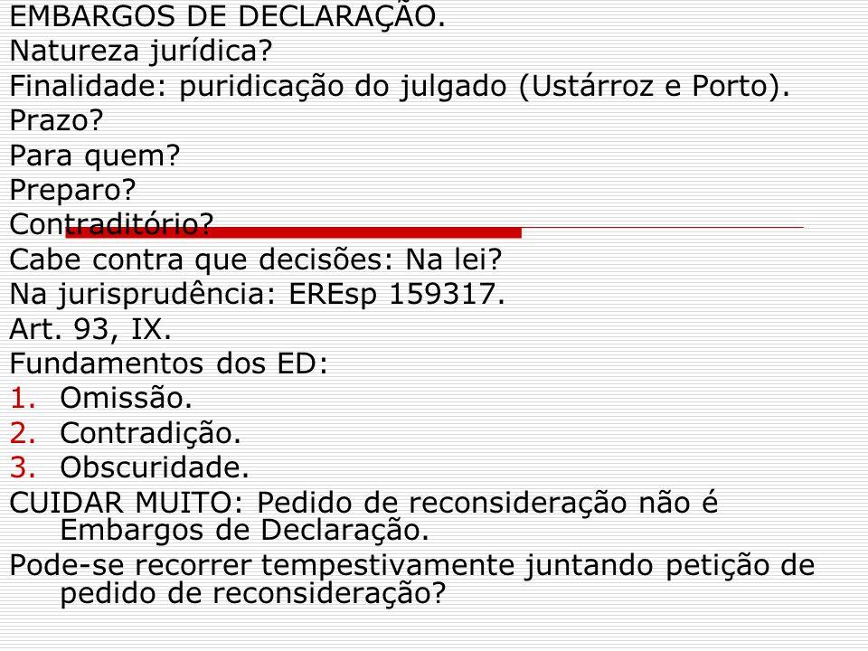 EMBARGOS DE DECLARAÇÃO.