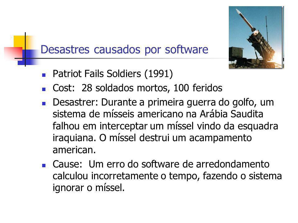 Desastres causados por software