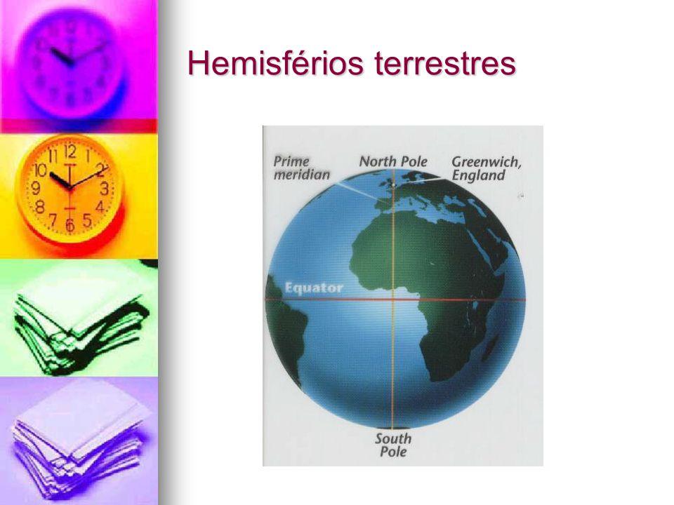Hemisférios terrestres