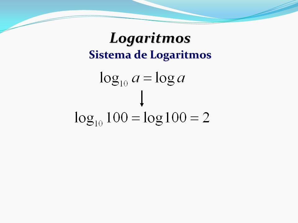 Logaritmos Sistema de Logaritmos