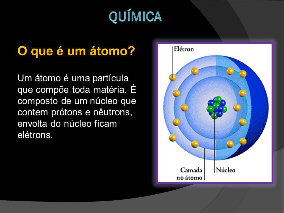 Química O que é um átomo