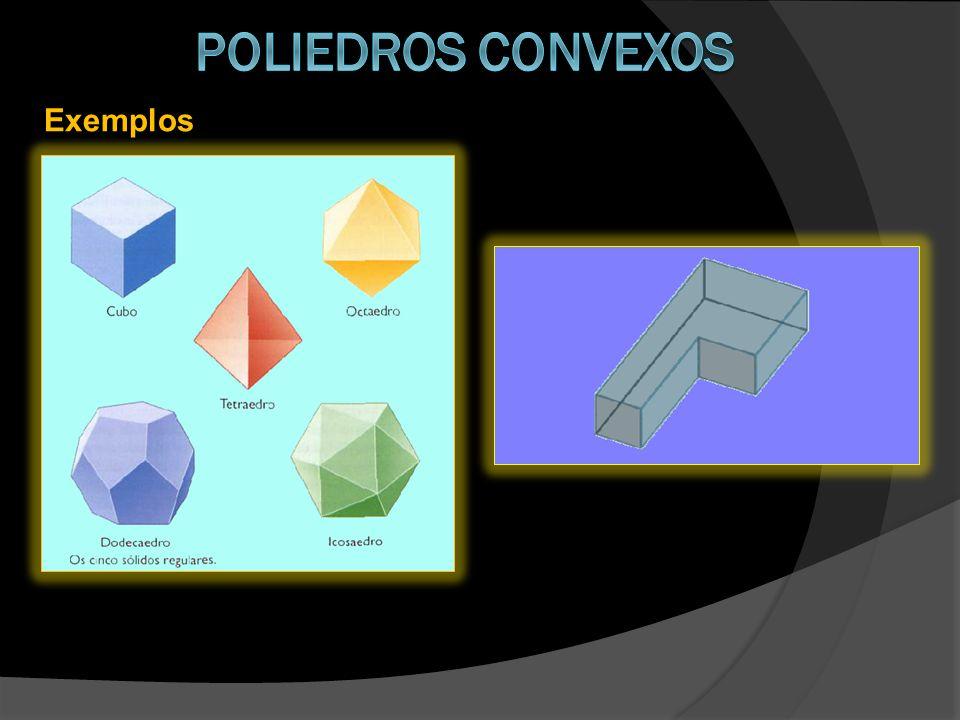 Poliedros convexos Exemplos