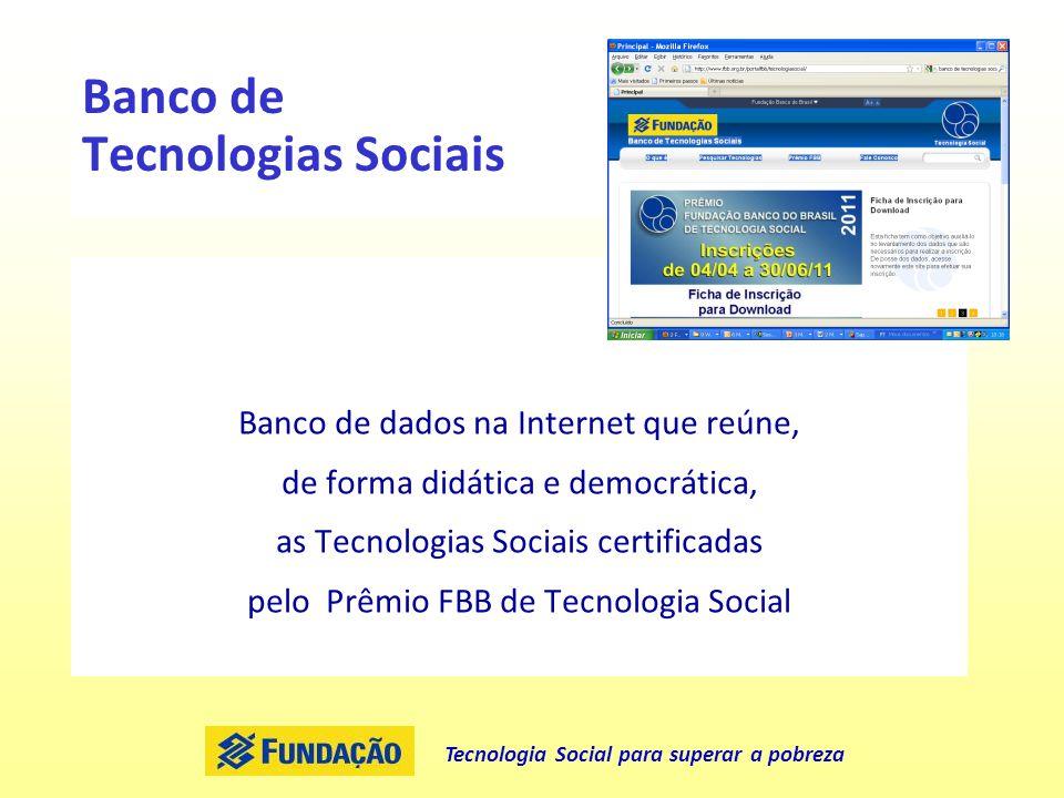 Banco de Tecnologias Sociais