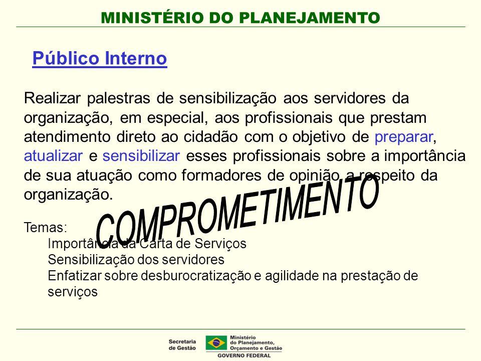 COMPROMETIMENTO Público Interno