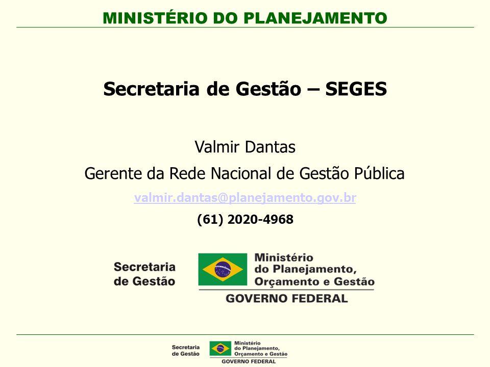 Secretaria de Gestão – SEGES