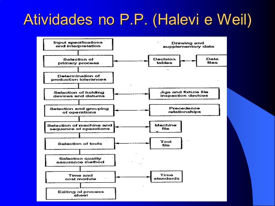 Atividades no P.P. (Halevi e Weil)