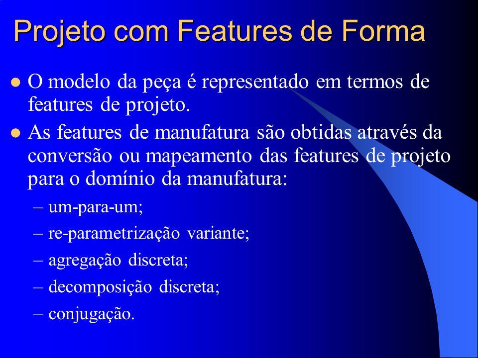 Projeto com Features de Forma