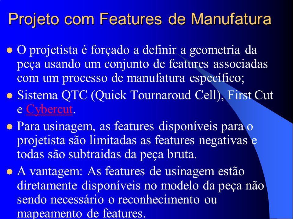 Projeto com Features de Manufatura