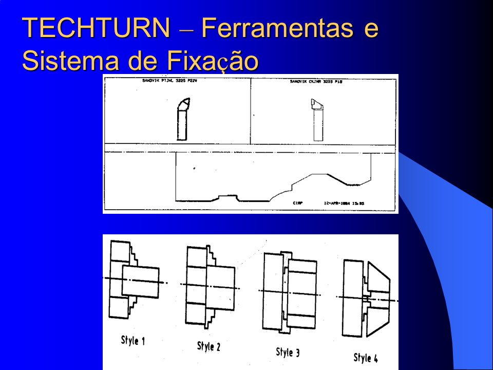 TECHTURN – Ferramentas e Sistema de Fixação