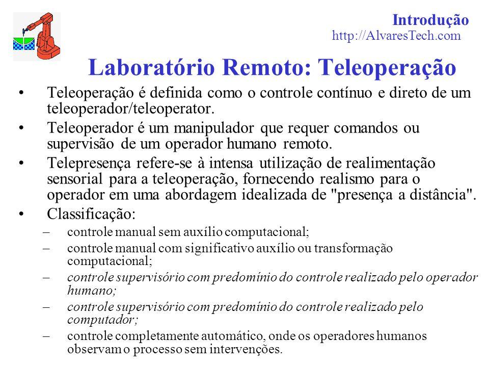 Laboratório Remoto: Teleoperação