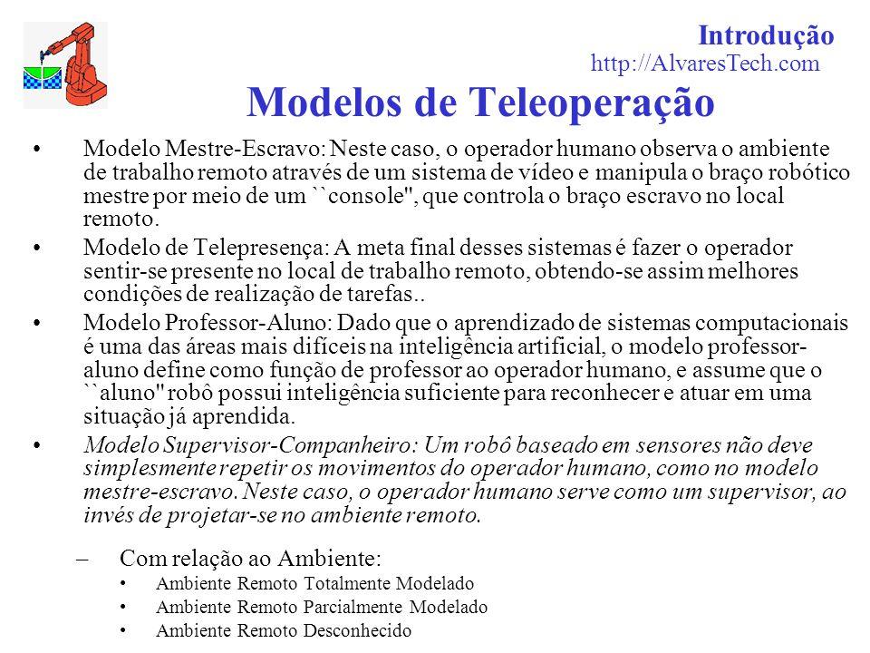 Modelos de Teleoperação