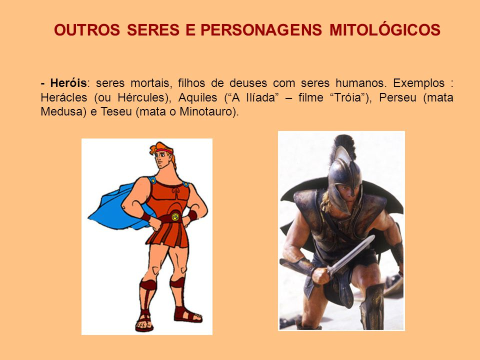 OUTROS SERES E PERSONAGENS MITOLÓGICOS