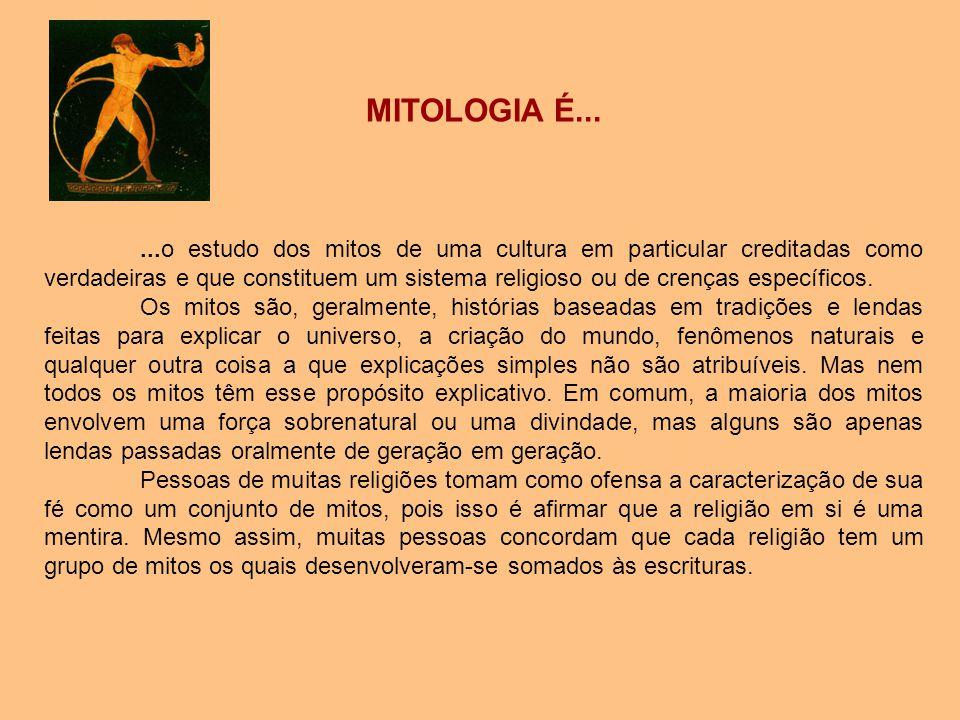 MITOLOGIA É...