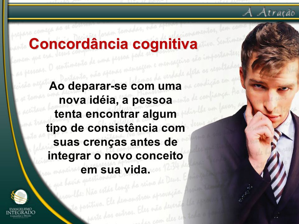 Concordância cognitiva