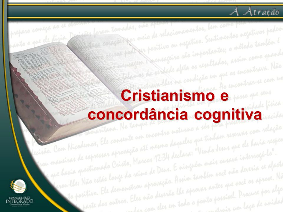 Cristianismo e concordância cognitiva