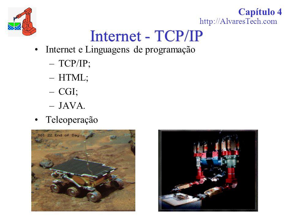 Internet - TCP/IP Capítulo 4 Internet e Linguagens de programação
