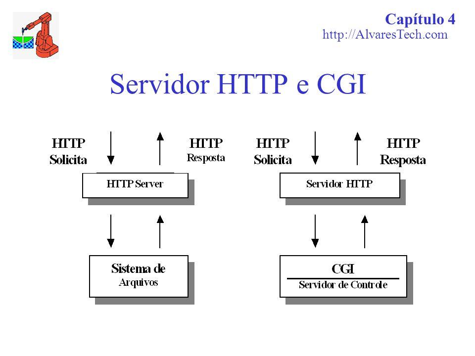 Capítulo 4 http://AlvaresTech.com Servidor HTTP e CGI